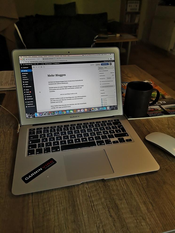 Mehr Bloggen