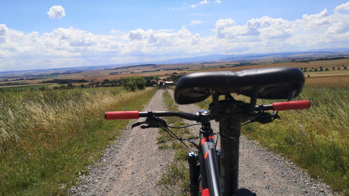 Ran an Bauch und Bike